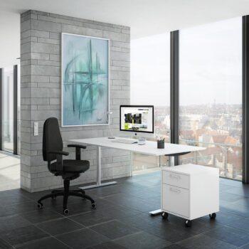 Fumac InLINE rektangulær skrivebord decor Fumac skrivebord
