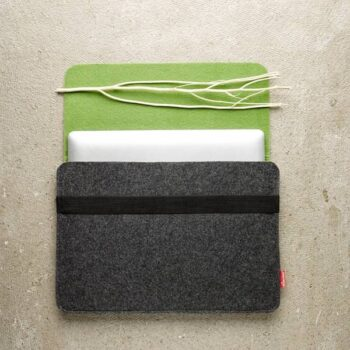 Laptop taske i grøn