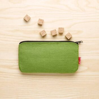 Lille opbevaringsetui i grøn