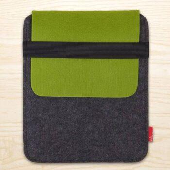 Tablet taske i grøn