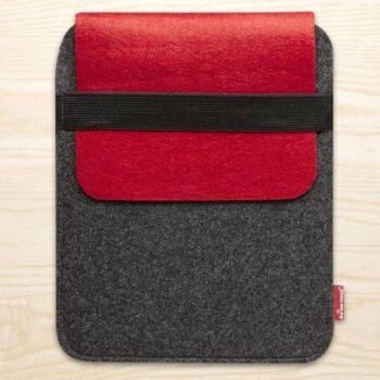 Tablet taske i rød